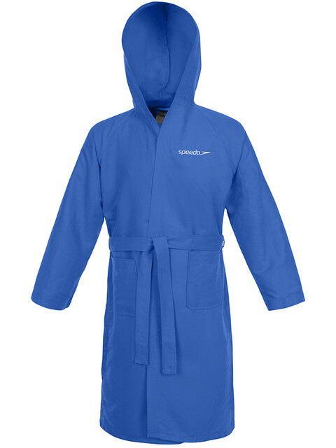 speedo Microfiber Bathrobe blue
